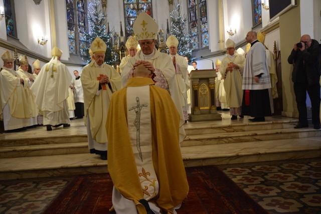 Nowy biskup. Święcenia ks. Adrian Józef Galbas
