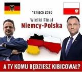 Ksiądz udostępnił kontrowersyjną grafikę. Trzaskowski Niemcem, Duda Polakiem. Wierni oburzeni