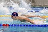 Pływanie. Kacper Płoszka z MKS Jedynka nie miał sobie równych w zawodach Bijemy Rekordy