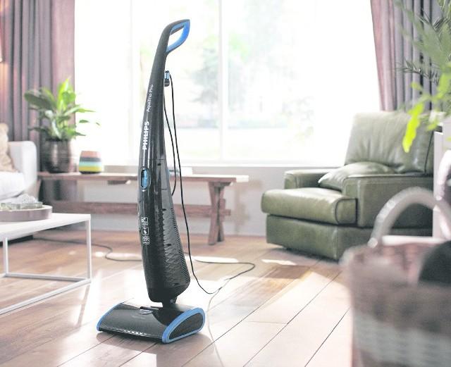 Nowoczesne odkurzacze odkurzają, myją podłogi, a nawet je suszą