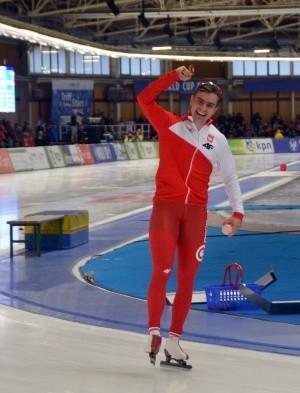Poznaniak Jan Szymański rozpoczął sezon od mocnego uderzenia