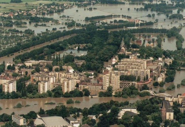 Powódź 1997. Opole.