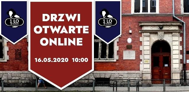 Sobotnie drzwi otwarte będą miały formę transmisji m.in. na profilu szkoły w portalu społecznościowym Facebook (I Liceum Ogólnokształcące im. Mikołaja Kopernika w Łodzi)