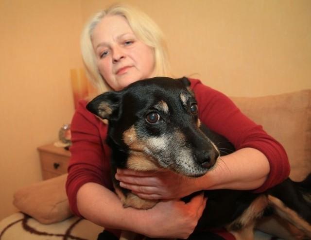 Alina Hryciuk do dziś nie może spokojnie opowiadać o wydarzeniach z 23 stycznia, kiedy to na jej oczach amstaff sąsiadów zagryzł jej psa.