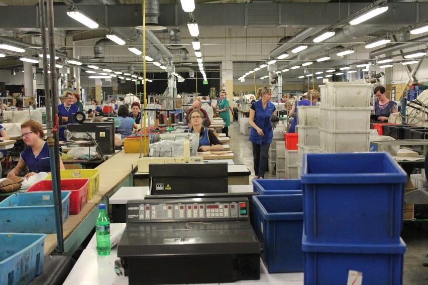Fabryka butów Wojas. Zdjęcie ilustracyjne