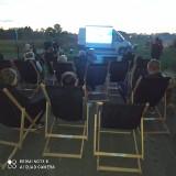 Kino na leżakach w gminie Będzino. To projekt lokalnego stowarzyszenia