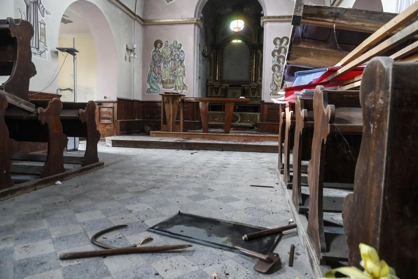 Wandale podczas libacji zniszczyli zabytkowy kościół w...