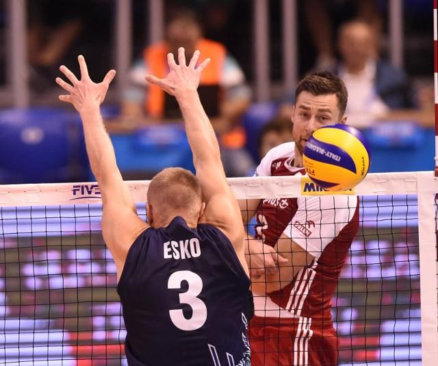 Michał Kubiak w meczu z Finlandią zdobył 12 punktów.