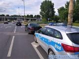 Kierowca zatrzymany w centrum Wrocławia. Jechał po narkotykach, w majtkach miał schowaną amfetaminę