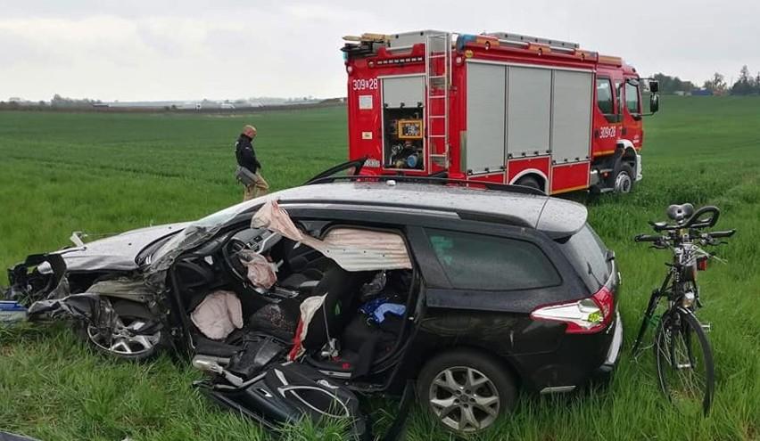 Do tragicznego wypadku doszło w czwartek po godzinie 14. na...