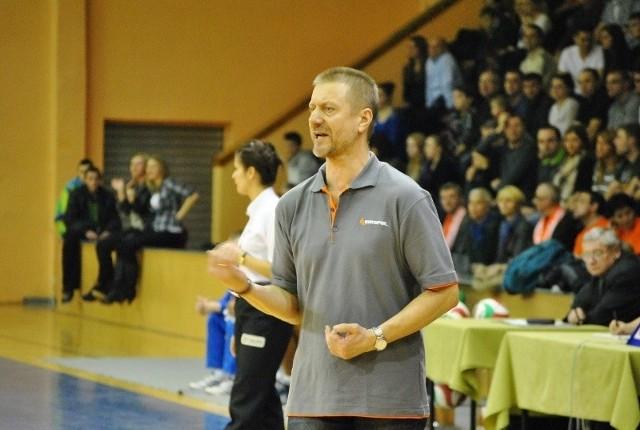 Trener Krispolu, Marek Jankowiak, chwalił swoich zawodników głównie za to, że solidnie popracowali nad kondycją