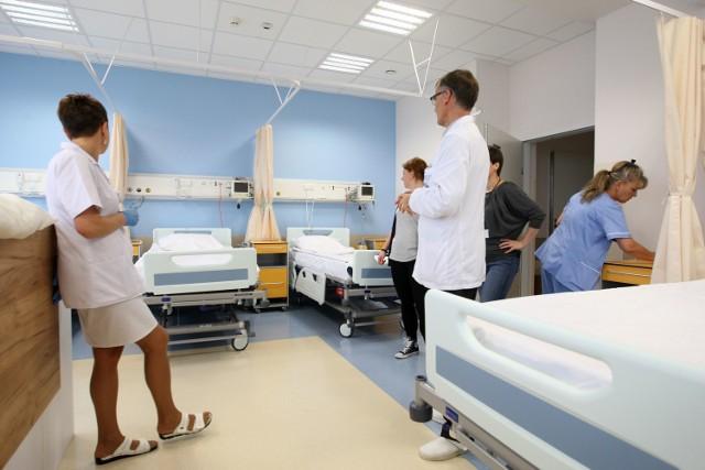 Gdyńska kardiologia jest już po fuzji - połączono oddziały o różnym standardzie, lepszym i gorszym. Sąd należy do pacjentów