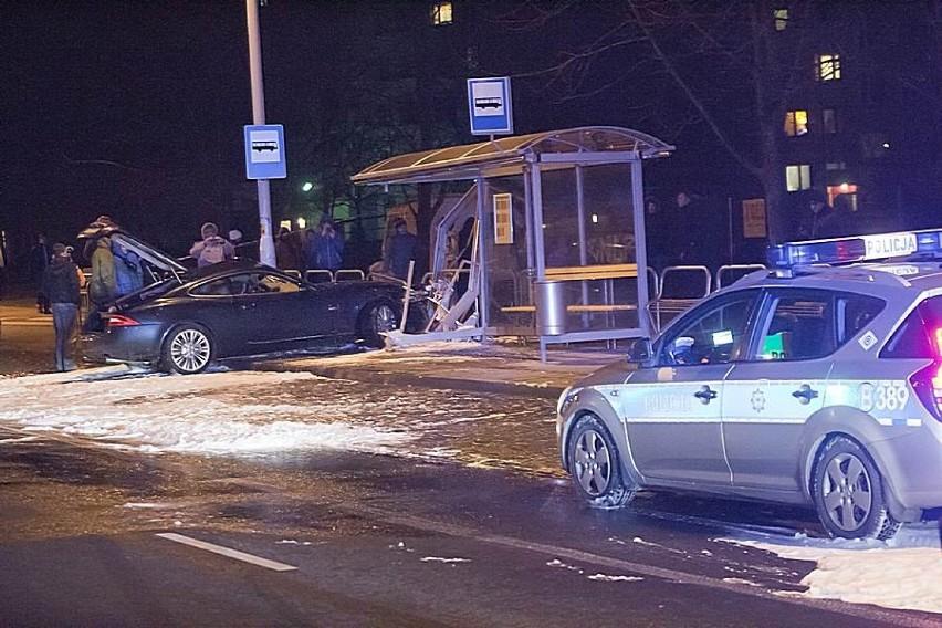 Wałbrzych, wypadek al. Podwale, 19.12.2013