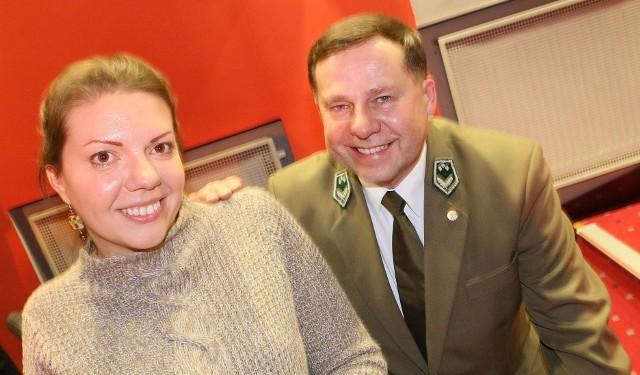 Na koniec spotkania Mirosława Górna podziękowała Jarosławowi Szałacie.