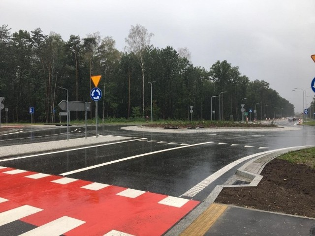 Rondo turbinowe w Walidrogach na DK 94