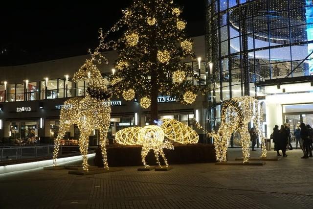 Tak wyglądały ozdoby świąteczne w Posnanii rok temu.