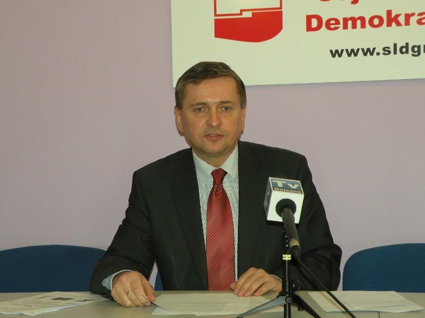 """Według SLD konińska """"jedynka"""" dla Tadeusza Tomaszewskiego..."""