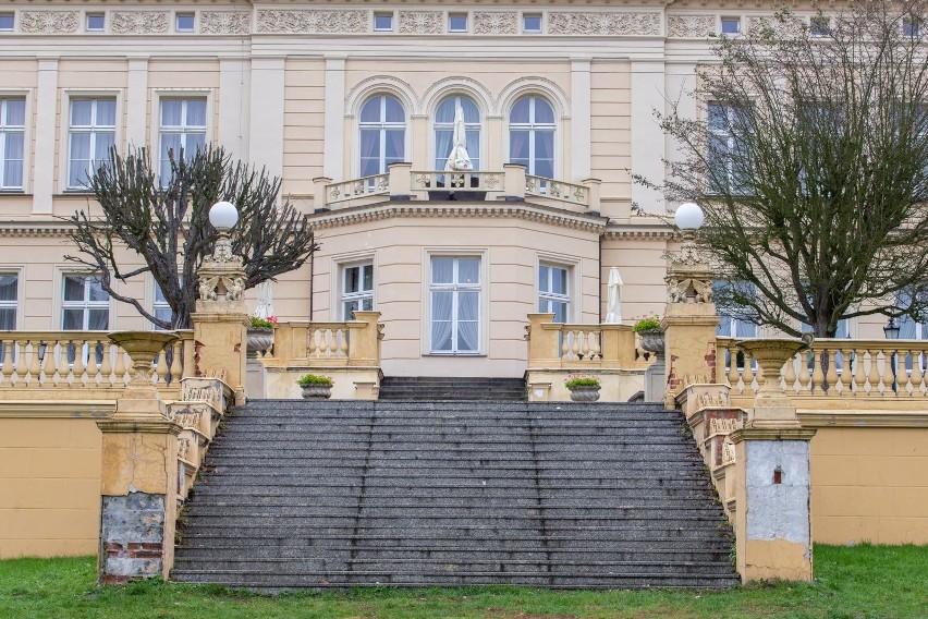 Tarasy Pałacu Nowego w Ostromecku odzyskają dawny blask.
