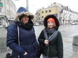 Gołoledź w Białymstoku. Pierwszy raz w tym sezonie ślisko na chodnikach. Trzeba uważać
