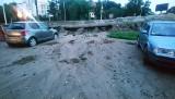 Burza  w regionie. Zatopione ulice, piwnice, garaże, połamane drzewa