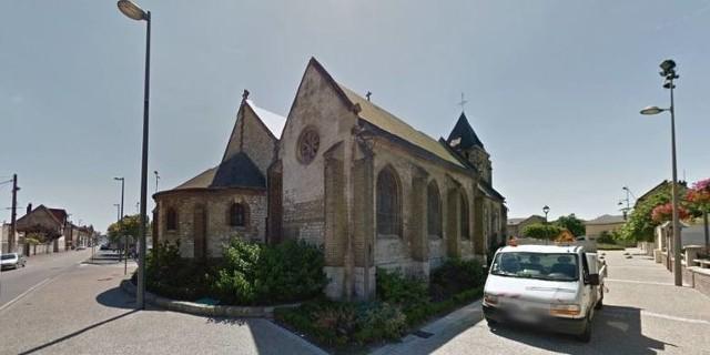Kościół we Francji, w którym zamordowano księdza