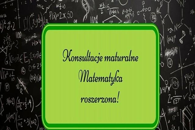 Politechnika Białostocka organizuje bezpłatne konsultacje dla maturzystów, chcących zdawać rozszerzoną maturę z matematyki.