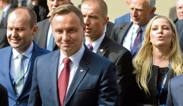 Prezydent Andrzej Duda pojawił się na sesji inauguracyjnej XXV Forum Ekonomicznego