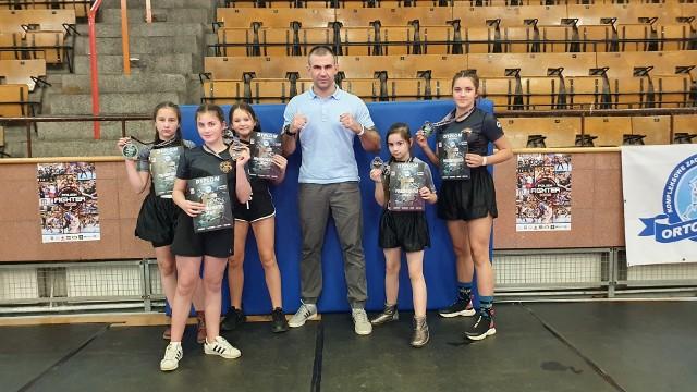 UKS High Kick Gym Szczecin po zawodach w hali SDS