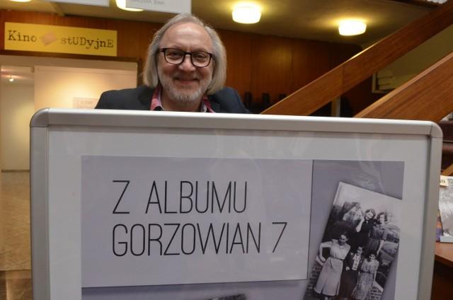 Zbigniew Sejwa w Miejskim Centrum Kultury w Gorzowie podczas zeszłorocznego szlaku.