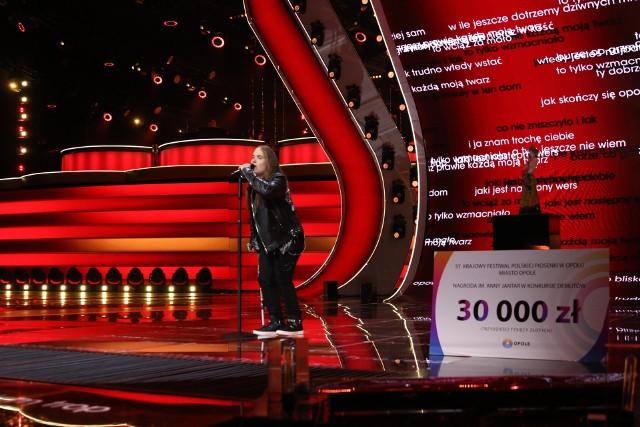 Kamil Czeszel wygrał Debiuty na festiwalu Opole 2020.