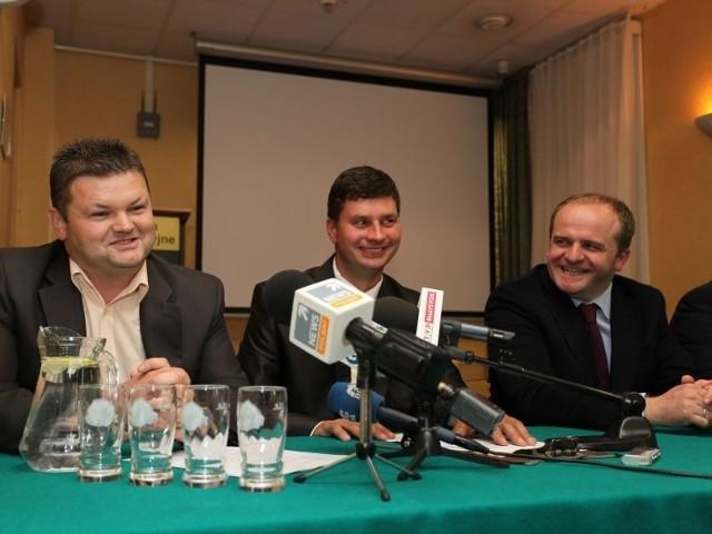 , (z lewej) to rolnik spod Czyżewa
