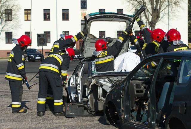 Szkolenie z bezpieczeństwa w ruchu drogowym w wojsku.