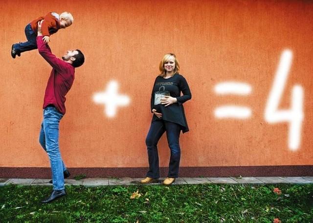 """""""Rodzinka w komplecie"""" – tak swoje konkursowe zdjęcie zatytułowała Małgorzata Adamczyk-Krzywiec."""