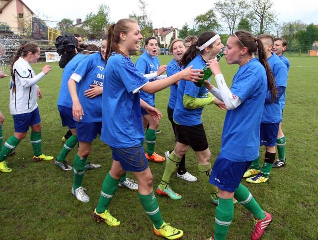 Trzy piłkarki Olimpii wystąpiły w meczu kadry.