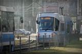 Dodatkowy tramwaj ze Stadionu Olimpijskiego po meczu żuzlowym