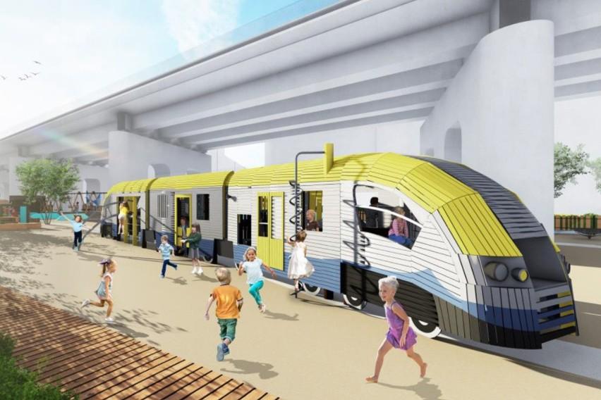 Pod estakadami kolejowymi w centrum Krakowa powstanie park! [WIZUALIZACJE, ZDJĘCIA]