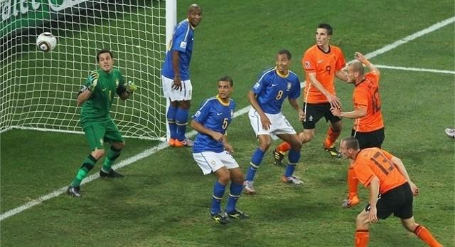 Holandia pokonała Brazylię 2:1