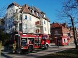 Pożar w mieszkaniu przy ul. Rzecznej w Kołobrzegu