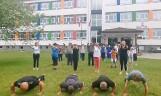 Szkoła ze Skalbmierza w #GaszynChallenge. Pompowali i przysiadali na medal. Aż miło popatrzeć [WIDEO]