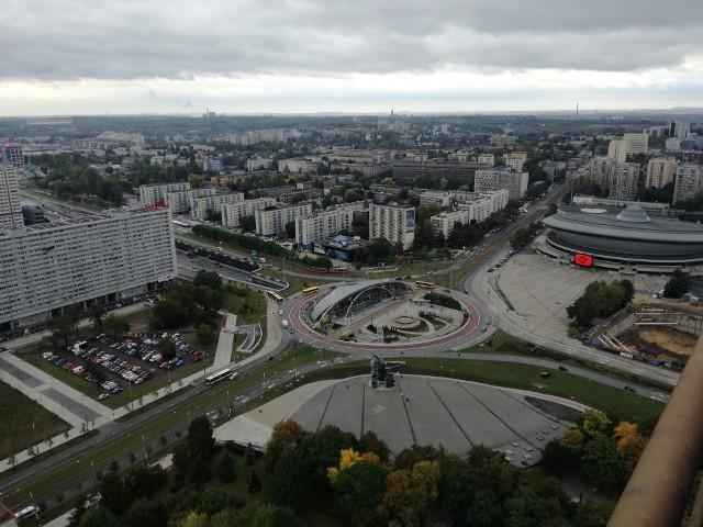 Katowickie rondo - to jedna z najbardziej oczywistych zmian w Katowicach.