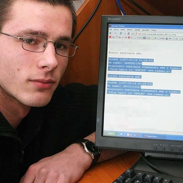 - Każdą z osób, której dane ujawniono na tej stronie, można w jakiś sposób skrzywdzić. Moje dane również tu są - mówi Adam Myśliwiec, jeden z użytkowników ResMANa.
