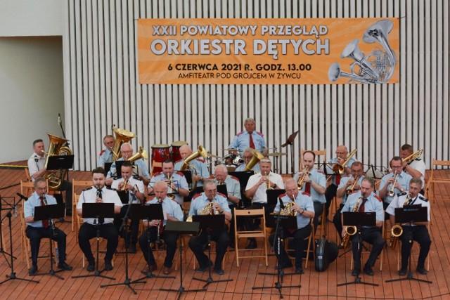 Powiatowy Przegląd Orkiestr Dętych odbył się w żywieckim Amfiteatrze pod Grojcem.Zobacz kolejne zdjęcia. Przesuwaj zdjęcia w prawo - naciśnij strzałkę lub przycisk NASTĘPNE