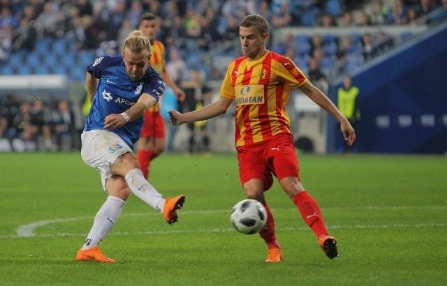 Ostatni mecz Lecha z Koroną w Poznaniu zakończył się zwycięstwem gości 1:0