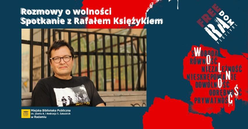Miejska Biblioteka Publiczna w Radomiu zaprasza na wydarzenia w ramach Free(Ra)dom Festiwal