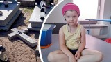 5-letnia Marysia Mucha z Kadłuba pod Strzelcami wraca do zdrowia po koszmarnym wypadku na cmentarzu. Rehabilitacja przynosi efekty