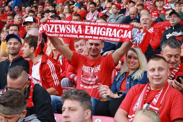 Kibice Widzewa na mecze do Łodzi przyjeżdżają z całego świata