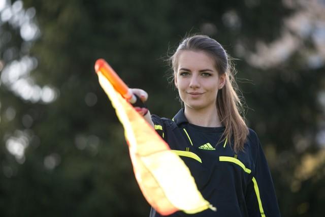 Karolina Bojar jeszcze w roli sędzi-panny