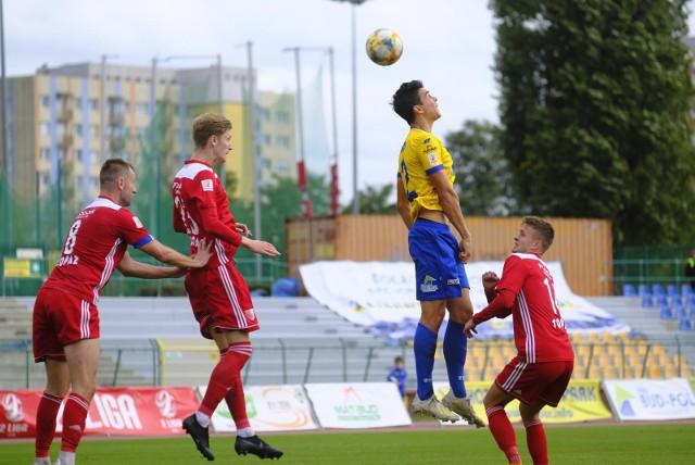 Po 15. kolejkach tego sezonu II ligi Pogoń zajmuje - z 15 punktami - 15. miejsce w tabeli