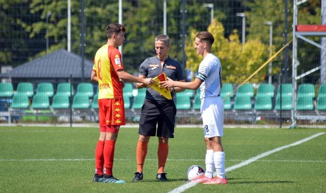 Piłkarze Stali Rzeszów zaczęli mecz od prowadzenia 1:0. Niestety to były miłe złego początku starcia z Jagiellonią Białystok.