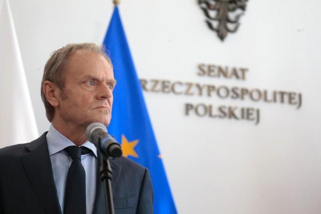 Seria spotkań Donalda Tuska. Szef PO rozmawia z liderami ugrupowań tworzących Koalicję Obywatelską
